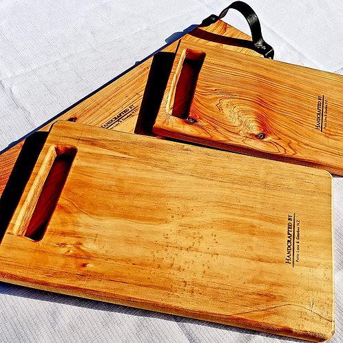 Hand Crafted Macrocarpa Bread Board