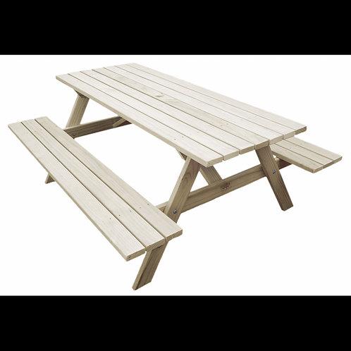 1.8M Classic Kiwi BBQ Bench/Picnic Table