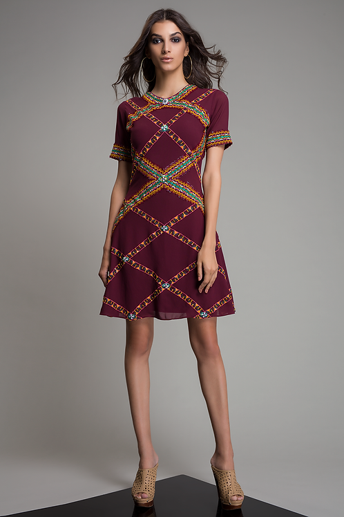 NOHEA EMBROIDERED DRESS
