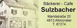 Bäckeri - Cafe Sulzbaher