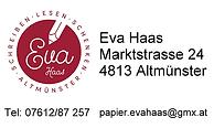 Eva Haas - Schreiben-Lesen-Schenken