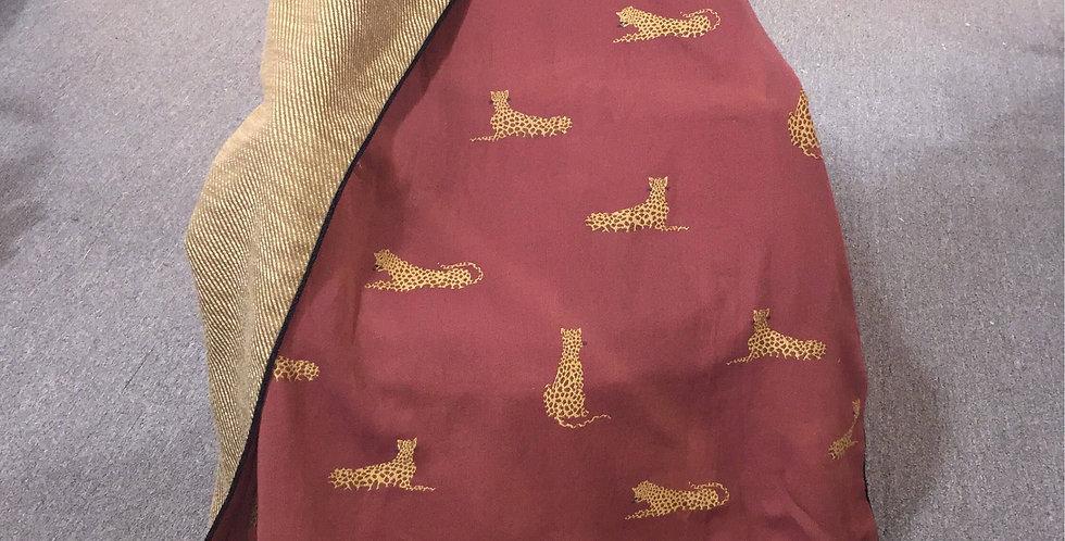Cheetah Throw - Elegant Fabric