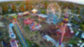 Prise de vue drone foir au plaisir