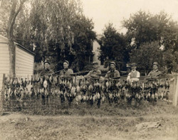 Duck hunting in 1912