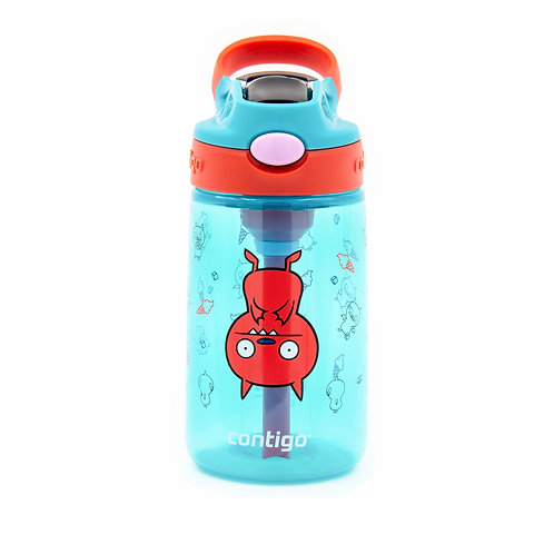 Contigo Gizmo 2.0 Autospout Kids Bottle (PP) 14oz (410ml) - Lucky Bat