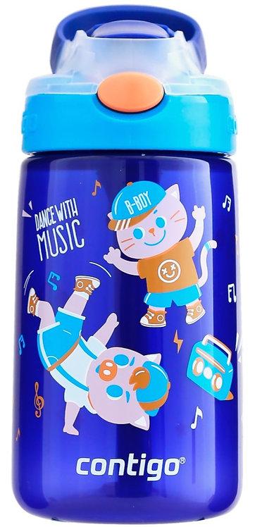 Contigo Gizmo Autospout (PP) 14oz (410ml) - Sapphire w/ Dancing Pig Graphic