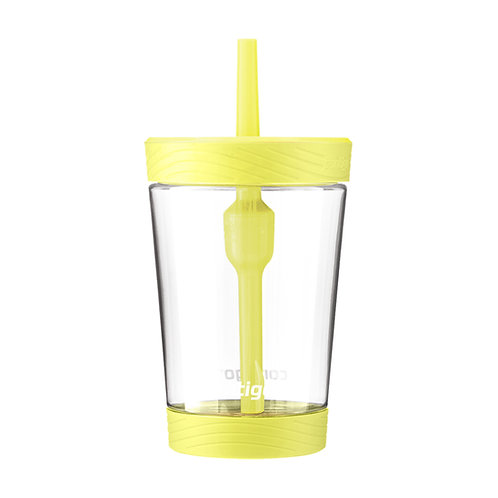 Contigo Spill Proof Tumbler (Tritan) 14oz (414ml) - Macaron Yellow Lid