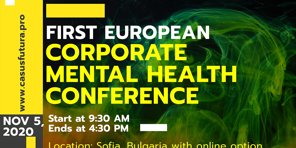 FIRST EUROPEAN MENTAL HEALTH CONFERENCE