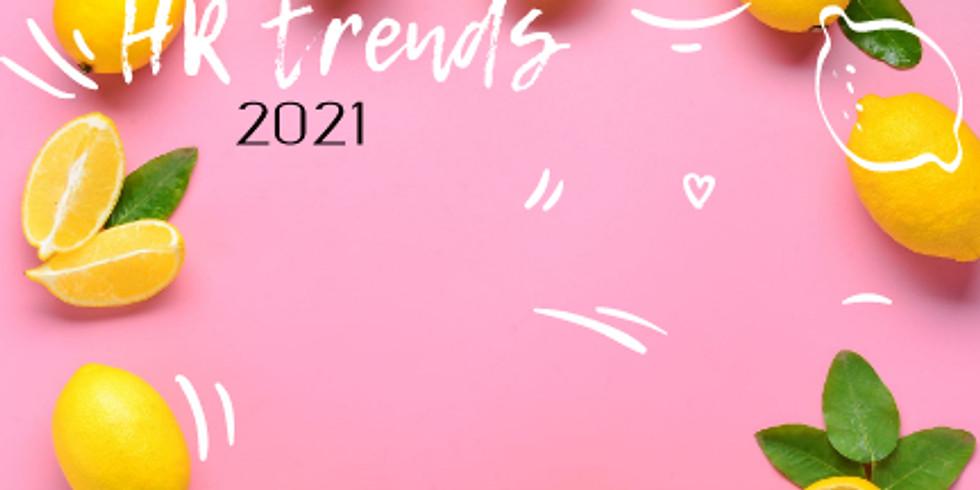 Значими HR тенденции в 2021г.