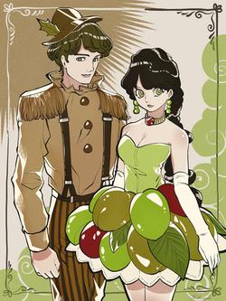 秋スイーツファッション