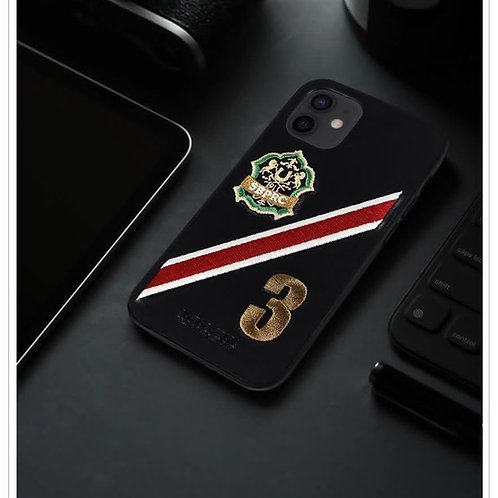 Luxury Premium Leather Polo Third Series Protective Case for Apple iPhone