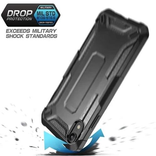 Aqua Series Ergonomic Translucent PC Back TPU Bumper Impact Resistant Armor Case