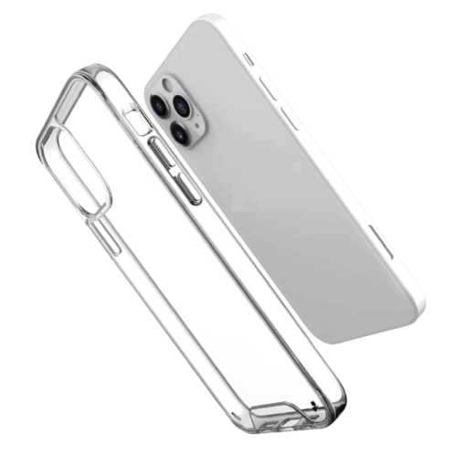 Enigma Series Transparent Crystal Clear with Chrome Independent Button