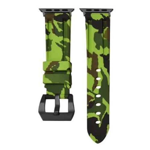 Soft Silicone Premium Elegant Camouflage Strap Band