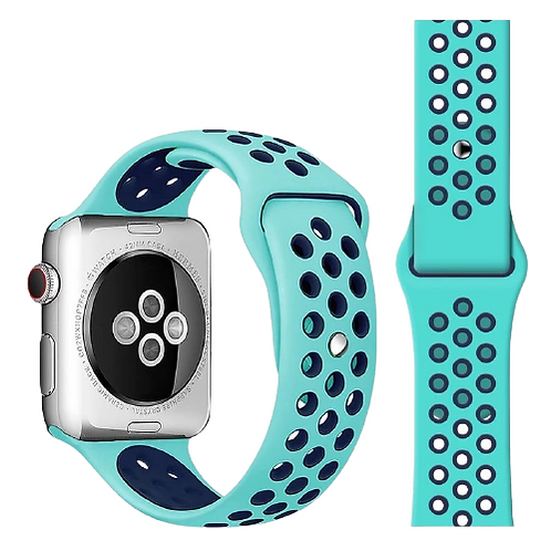 Soft Silicone Sports Edition Strap Band for iWatch Series 1/2/3/4/5/6/SE