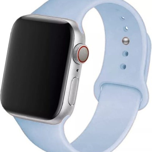 Soft Silicone Strap Band with Screen Protection Hood Case