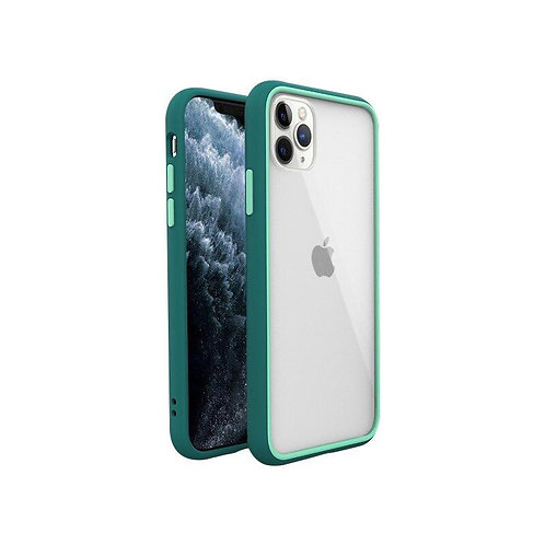 Racoon Series Transparent Soft Silicone Bumper Armor Shockproof Case