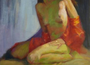 Have you ever secretly wanted to be painted in the nude?