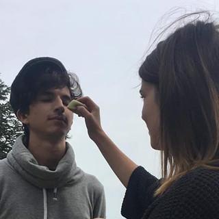 Backstage tournage