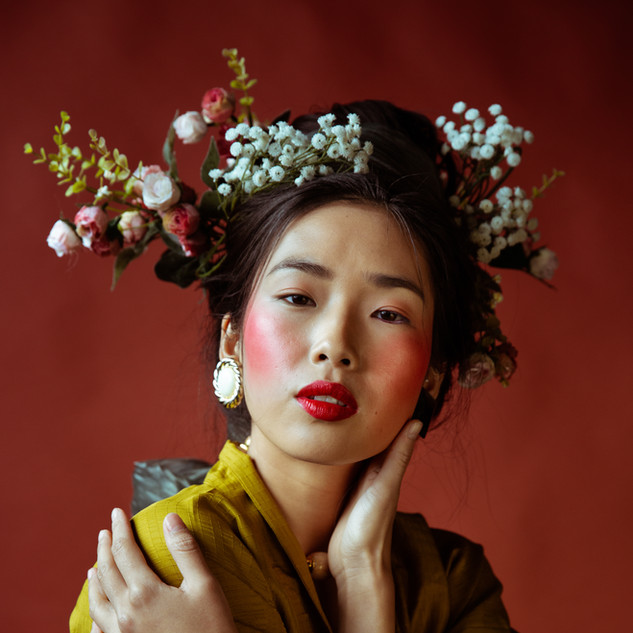 Ethnique make up