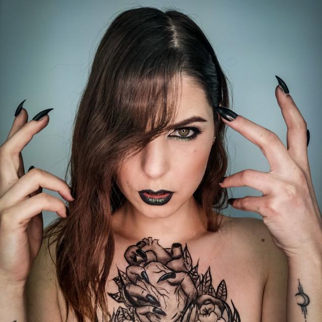 Maquillage effet tattoo