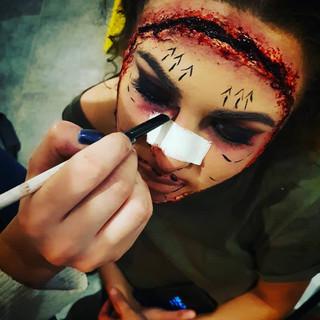 Maquillage chirurgie plastique