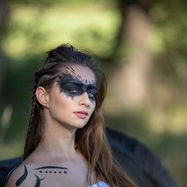 Viking make up