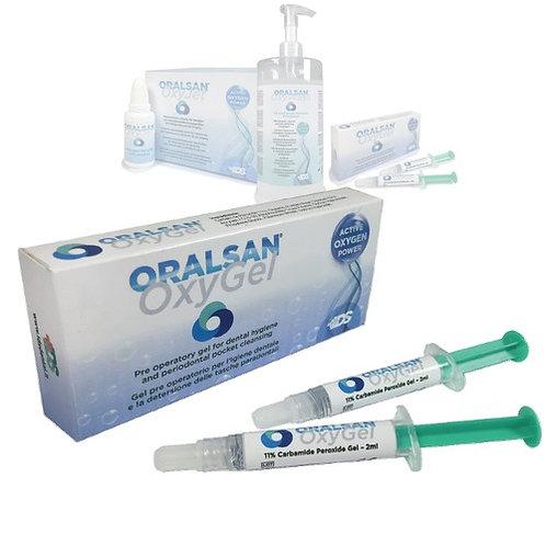 Oxy Gel dissolvant de tartre (2 seringues)