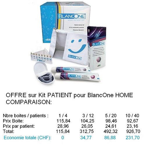 OFFRES sur boite de 4 Kits Patient BlancOne HOME .