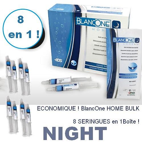 BlancOne HOME BULK (8 seringues) NIGHT