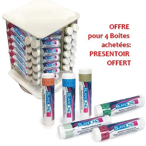 Offre sur 4 Boites de 12 BlancOne LIPS: Présentoir offert