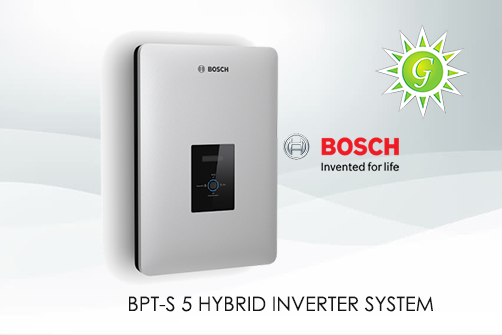 BOSCH S 5 HYBRID  BATTERY STORAGE