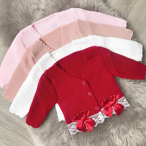 Lace Knit Cardigans