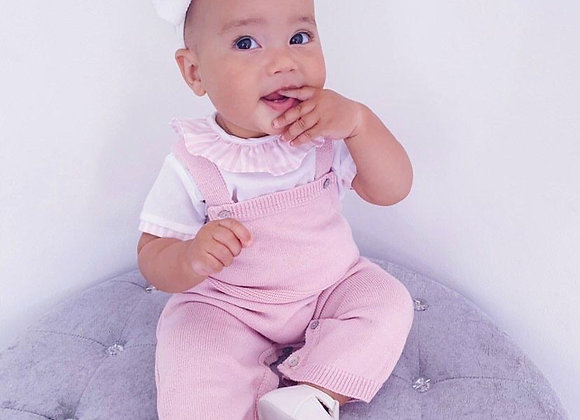 Dusty Pink Dungaree