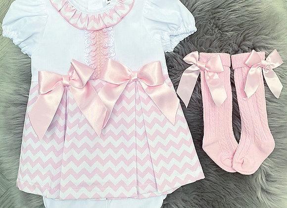 Missoni Print Dress&Bloomers