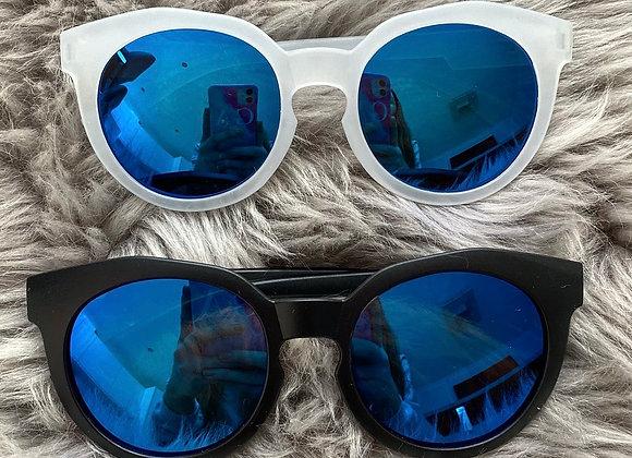 Boys Blue Mirrored Sunglasses