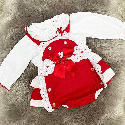 Rosie Red Romper
