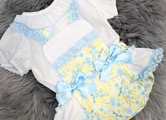 Blue&Lemon Romper