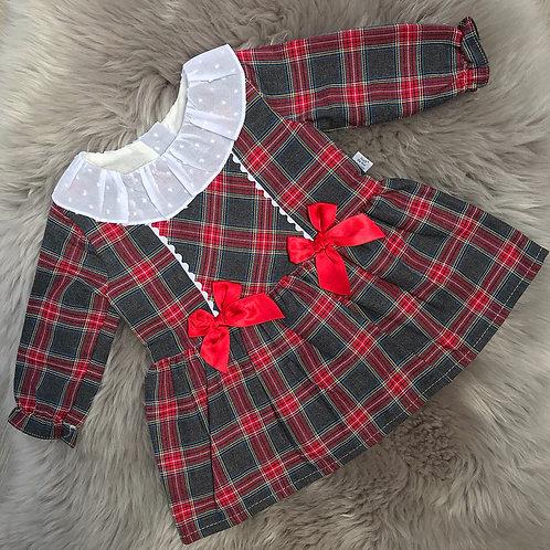 Gracie Tartan Dress