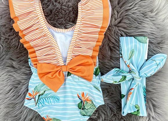Meia Pata Tropical Costume