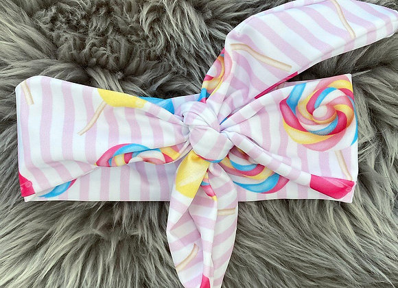Meia Pata Lollipop Bow Headband