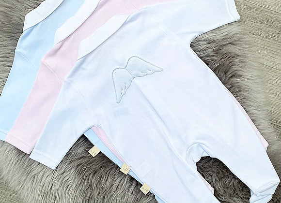Cotton Angel Wing Rompers
