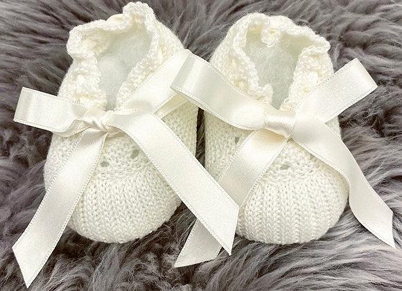 Luxury Newborn Granlei Booties