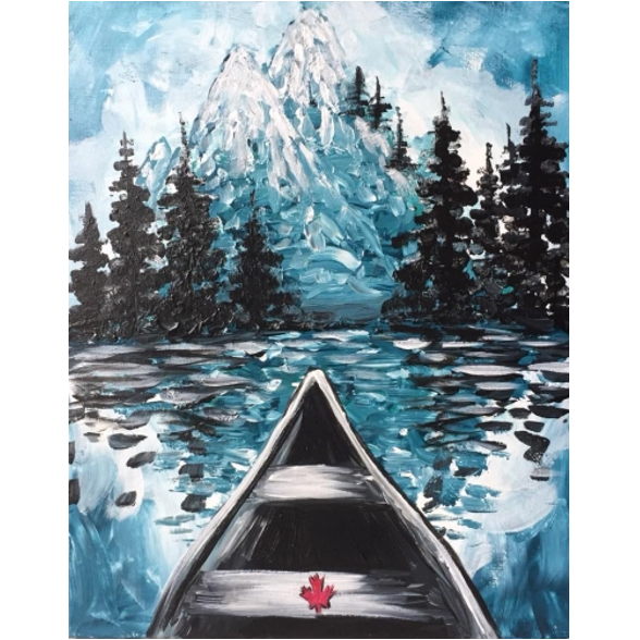 Virtual Fundraising PAINT NITE - Take Dad for an Adventure