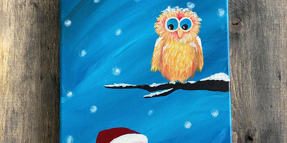 Live Virtual PAINT NITE - Owl Be with You