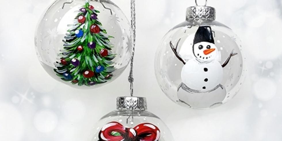 Christmas Ornaments @ Saffron's