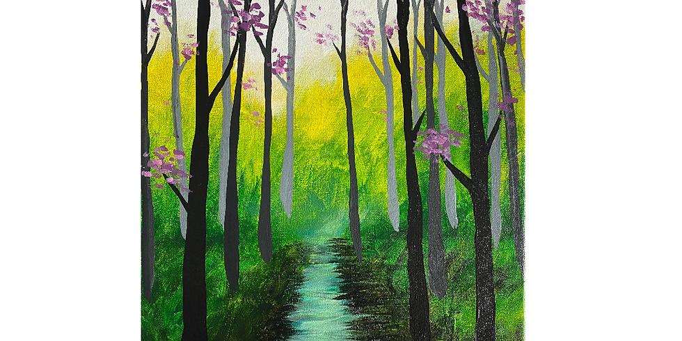 PAINT NITE @Saffron's- Enchanted forest