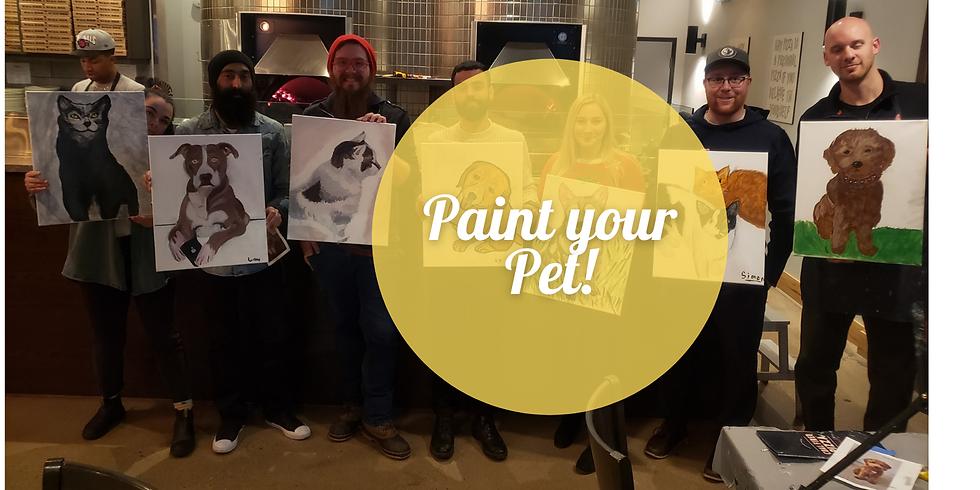 Paint your Pet @ Saffron's