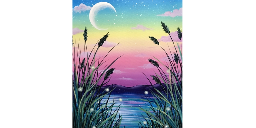 Fundraising PAINT NITE for Sandy Hook Community Club