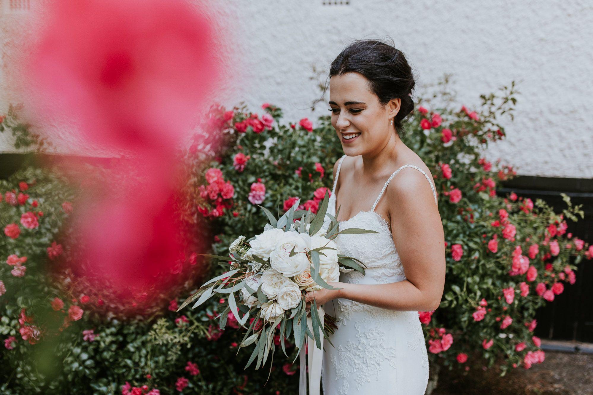 eva's bridal makeup look